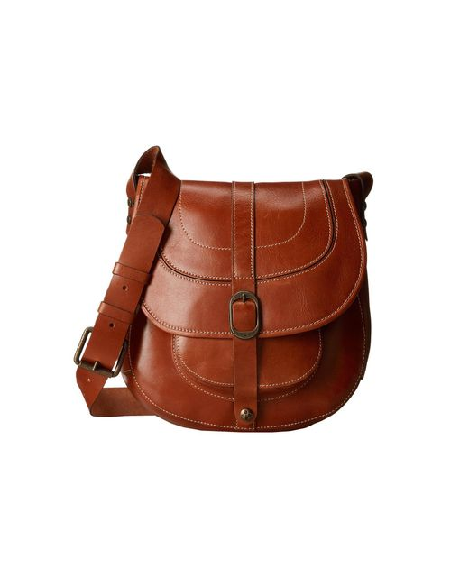 Patricia Nash | Brown Barcelona Saddle Bag | Lyst