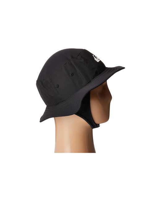 350adb3538631 ... wholesale usa quiksilver bushmaster surf hat black bucket caps for men  lyst 4a169 ee880 aee21 fb4dc