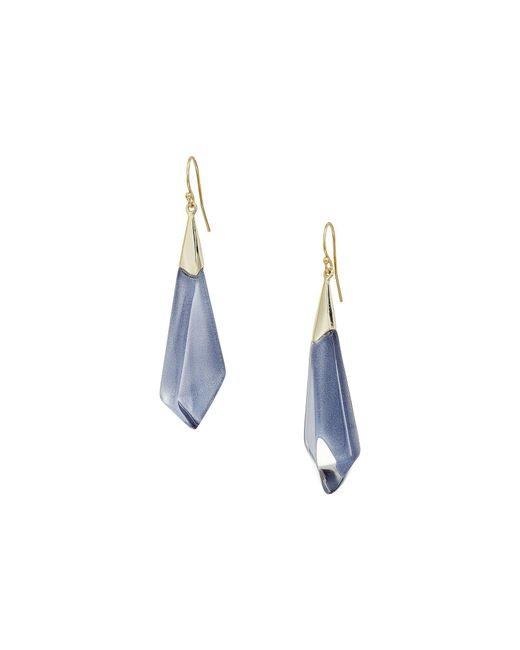 Alexis Bittar | Multicolor Faceted Wire Earrings | Lyst