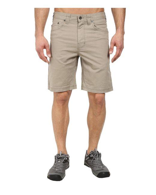 Prana - Natural Bronson 9 Short (nautical) Men's Shorts for Men - Lyst
