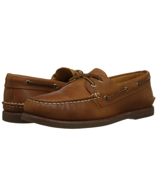 Sperry Top-Sider - Brown Gold A/o 2-eye for Men - Lyst