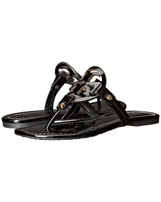 Lyst - Tory Burch Miller Flip Flop Sandal Light Makeup Womens Shoes In Black-2252