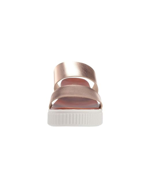 b84cfb51efa8da ... MIA - Pink Lexi (cognac) Women s Sandals - Lyst