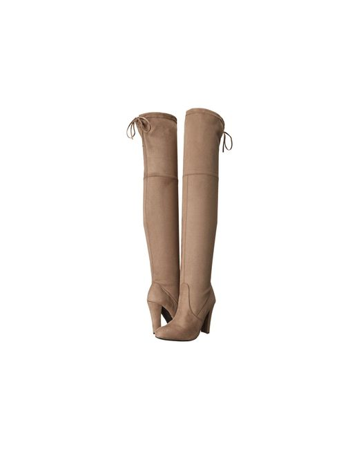 Steve Madden - Natural Gorgeous Knee Boot - Lyst
