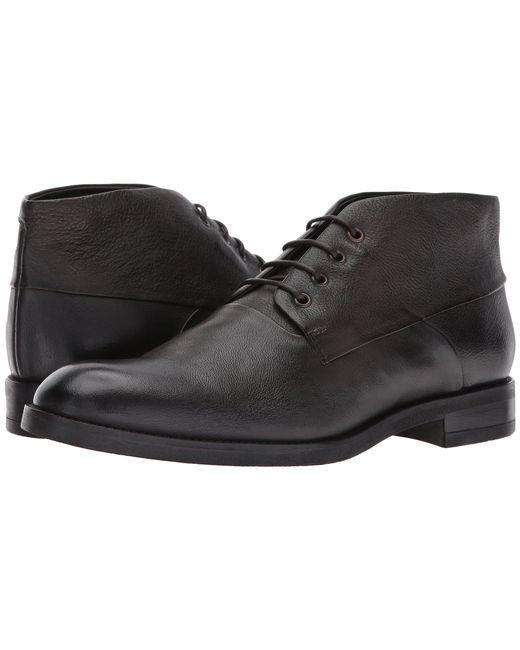 John Varvatos - Jacob Chukka (dark Brown) Men's Lace-up Boots for Men - Lyst