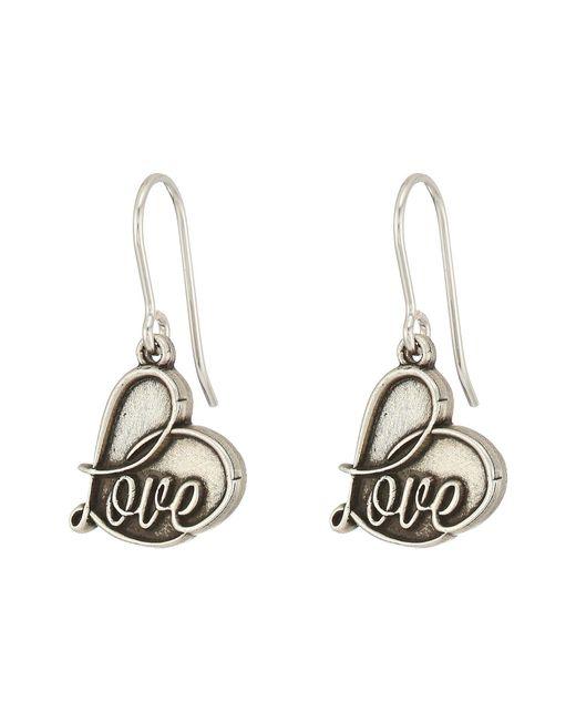 ALEX AND ANI - Metallic Love Hook Earrings (rafaelian Gold) Earring - Lyst