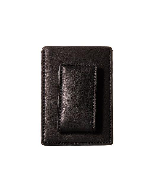 Bosca - Washed Collection - Deluxe Front Pocket Wallet (black) Credit Card Wallet for Men - Lyst