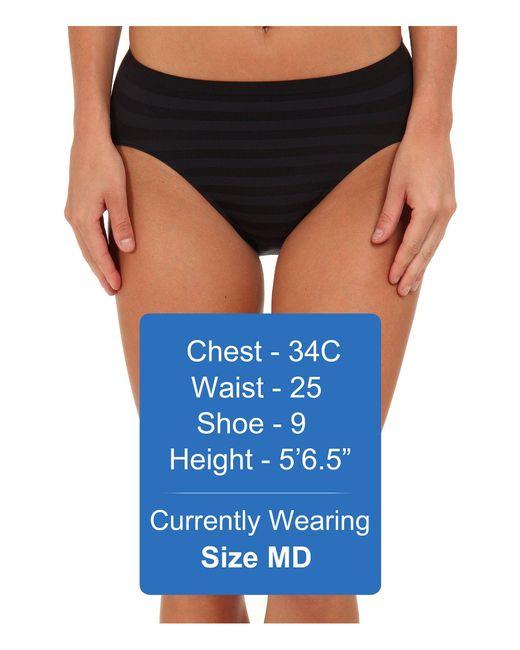 dd023456bf8ae ... Jockey - Comfies(r) Matte Shine Hi Cut (black) Women s Underwear -