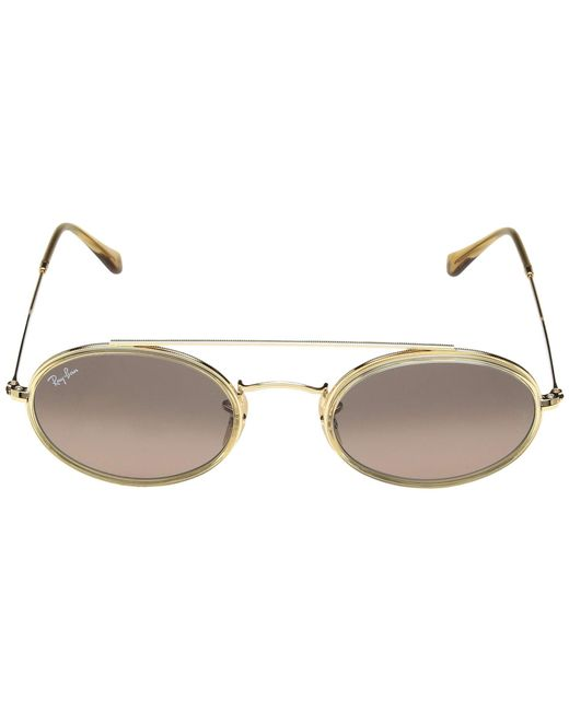 191f998b80 ... Ray-Ban - Metallic Rb3847n 52 Mm. (gold green) Fashion Sunglasses ...
