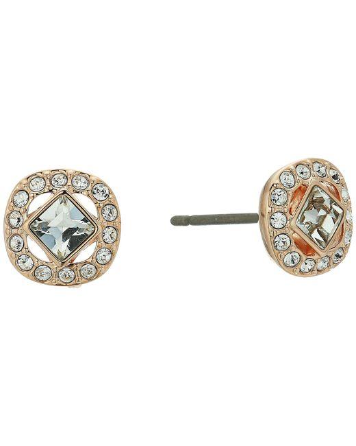 Swarovski - Multicolor Angelic Pierced Earrings (white 1) Earring - Lyst