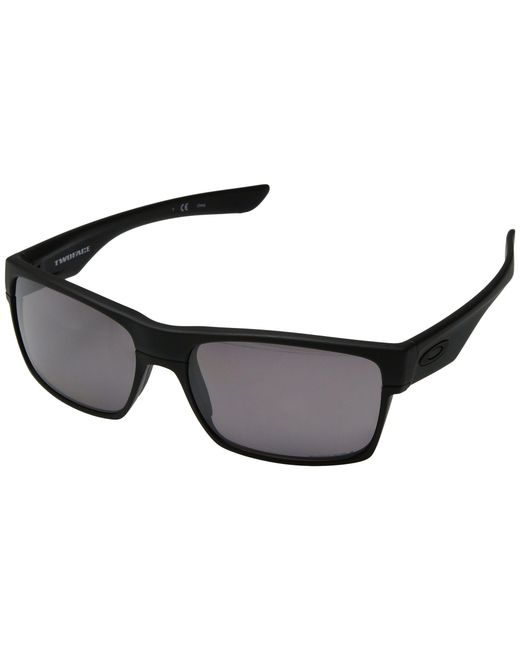 01c53e2245 Oakley - Two Face (matte Black grey Polarized) Sport Sunglasses for Men ...