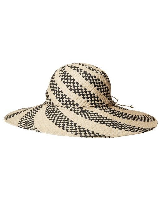 San Diego Hat Company - Multicolor Pbl3089os Spiral Woven Paper Sun Brim ( natural) Caps ... 416d86121a68