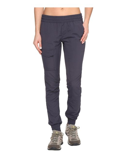 Columbia - Blue Silver Ridge Pull On Pants (nocturnal) Women's Casual Pants - Lyst