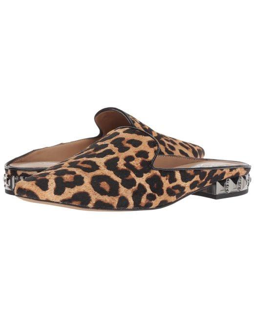 Franco Sarto - Brown Samanta 6 (camel Leopard Brahma Hair) Women's Shoes - Lyst