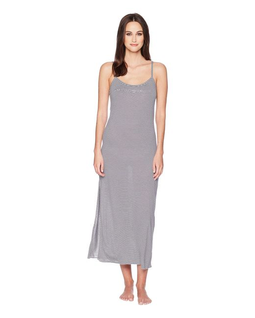 Emporio Armani - Sailor Maniac Night Dress (white/night Blue) Women's Dress - Lyst