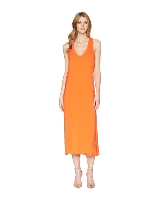 Kenneth Cole - Orange Twist Back Tank Dress (mandarin Red) Women's Dress - Lyst