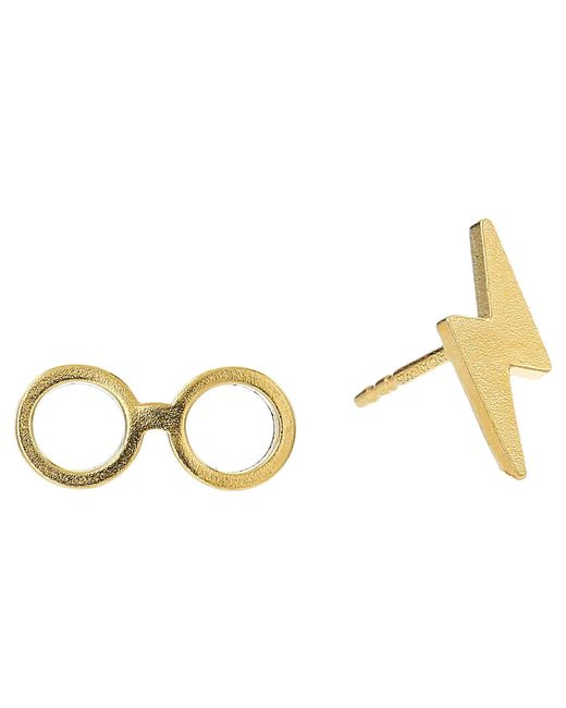 ALEX AND ANI - Metallic Harry Potter Glasses Earrings (14kt Gold Plated) Earring - Lyst
