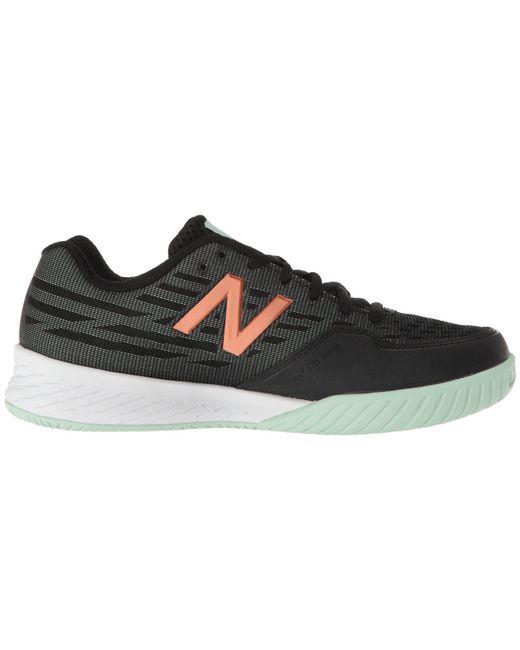 5260d8aa238 Lyst new balance black seafoam womens shoes in black jpeg 520x650 Black  seafoam