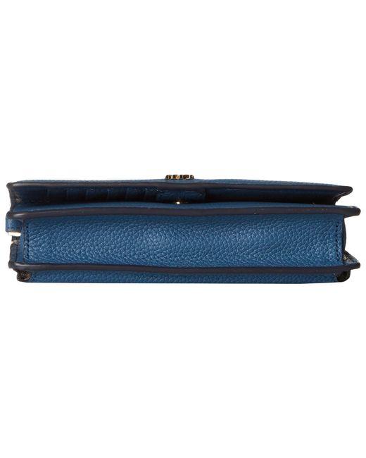 89558db825a2 ... MICHAEL Michael Kors - Blue Phone Crossbody (olive) Cross Body Handbags  - Lyst ...