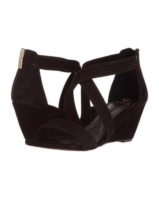 Isola - Black Fia (smoke Distressed Foil Suede) Women's Dress Sandals - Lyst