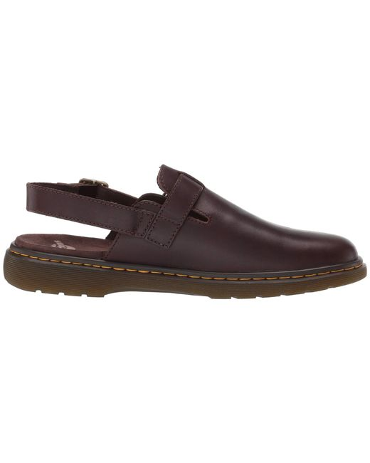 5fb841e60b0 ... Dr. Martens - Jorge Westfield (dark Brown) Sandals for Men - Lyst ...
