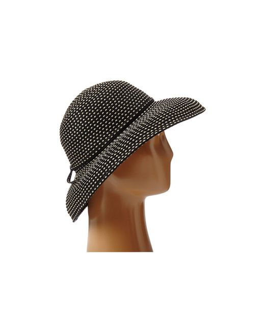 15a30fde2e3 ... San Diego Hat Company - Rbm4784 Ribbon Kettle Brim Hat (black)  Traditional Hats ...