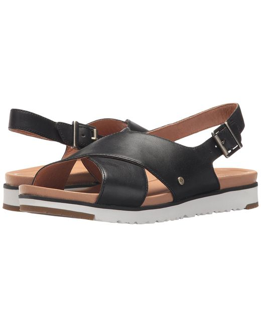 Ugg - Kamile (black) Women's Sandals - Lyst