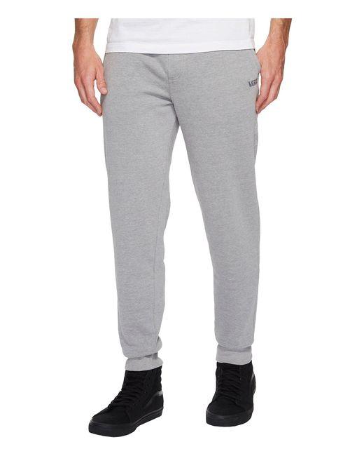 Vans | Gray Core Basic Fleece Pants for Men | Lyst