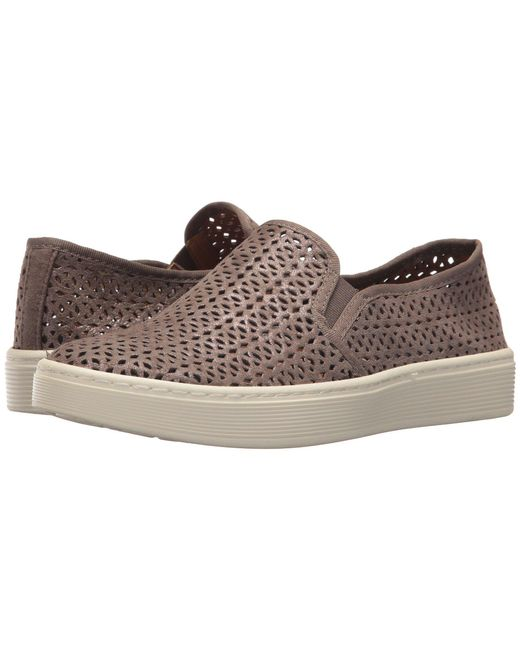 Söfft - Multicolor Somers Ii (smoke Distressed Foil Suede) Women's Slip On Shoes - Lyst