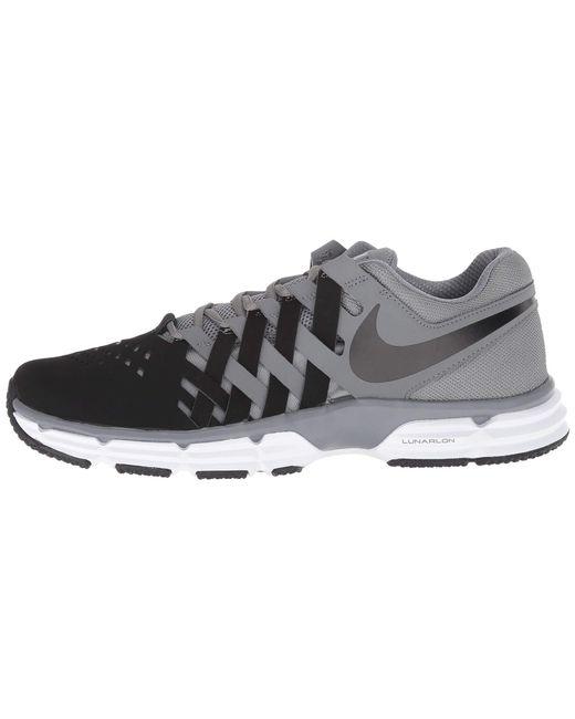 3be505b6d98afd ... Nike - Gray Lunar Fingertrap Tr (cool Grey white wolf Grey) Men s ...