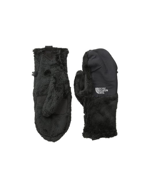 The North Face - Women's Denali Thermal Mitt (black Tnf) Extreme Cold Weather Gloves - Lyst