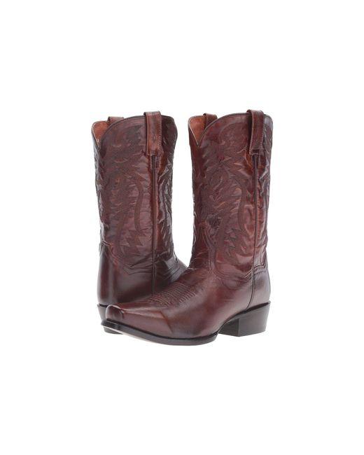 Dan Post - Multicolor Crosby (antique Tan Goat) Cowboy Boots for Men - Lyst
