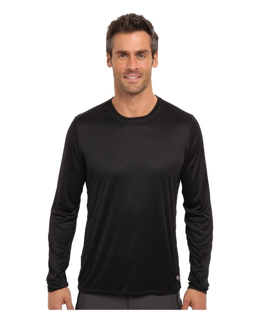 Hot Chillys - Black Peach Solid Crewneck for Men - Lyst