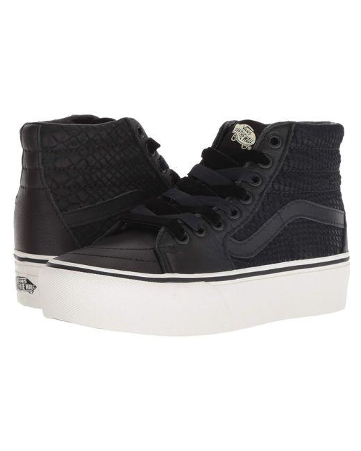 vans shoes leather