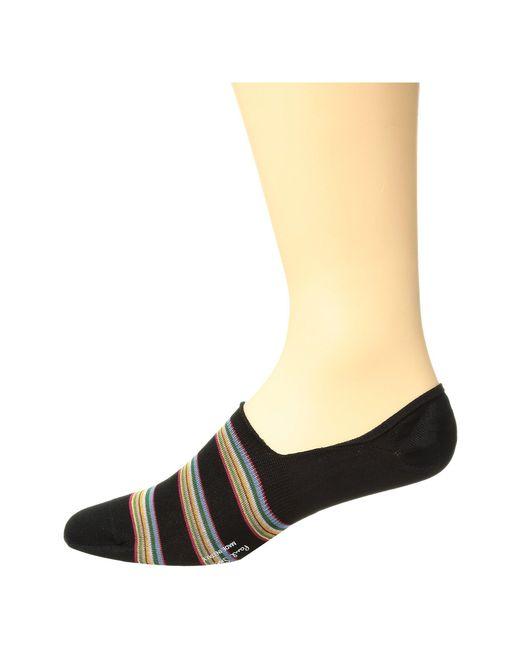 c1ba9c881cd Paul Smith - Multi Block No Show Socks (black Multi) Men s No Show Socks