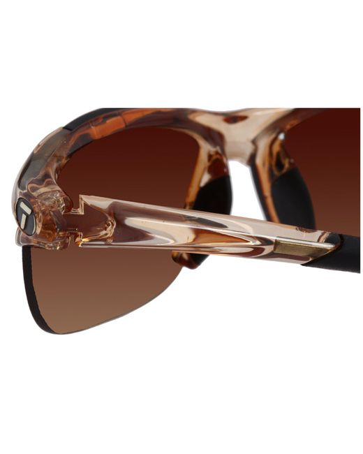 5f87286ce6 ... Tifosi Optics - Wisptm Interchangeable (crystal Brown brown Gradient ac  Red clear ...
