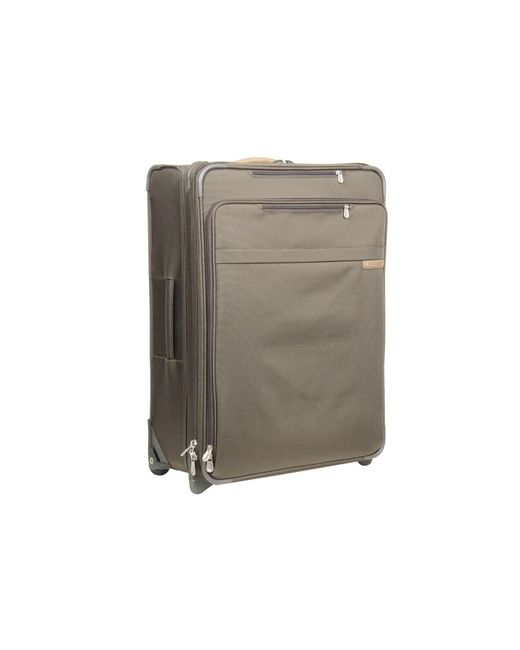 Briggs & Riley - Green Baseline - Large Expandable Upright (black) Luggage - Lyst