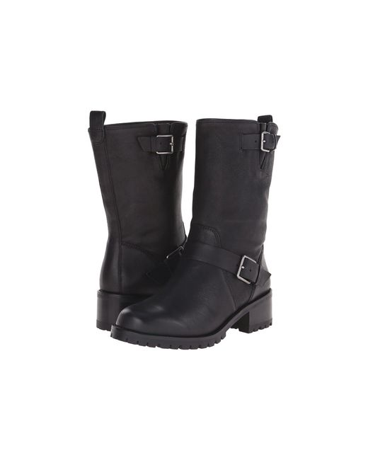 Cole Haan - Hemlock Boot (black Leather) Women's Pull-on Boots - Lyst
