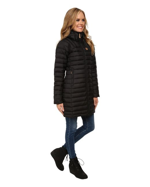 c3788cfb0437 Fjallraven Snow Flake Parka (black) Women s Coat in Black - Lyst