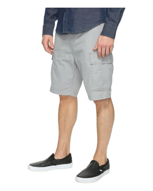 83c49ed006 ... Levi's - Gray Levi's(r) Mens Carrier Cargo Shorts (black/ripstop) ...