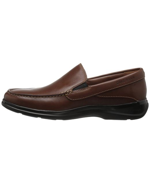 c7325701866 ... Cole Haan - Santa Barbara Twin Gore Ii (harvest Brown Leather) Men s  Shoes for ...