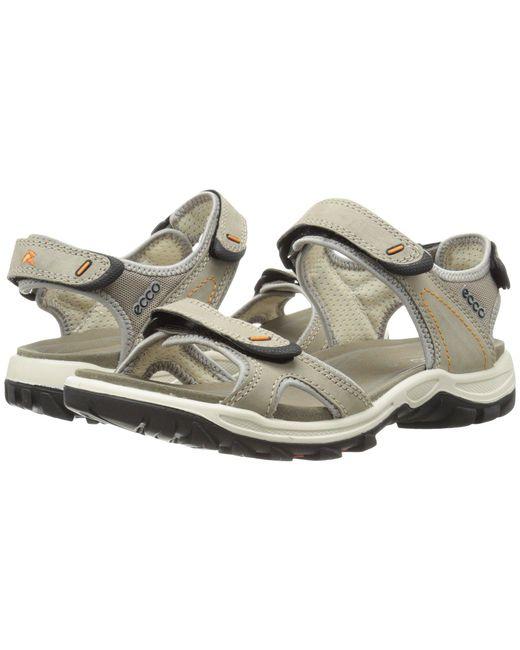 Ecco - Gray Offroad Lite Sport (moon Rock/moon Rock) Women's Shoes - Lyst