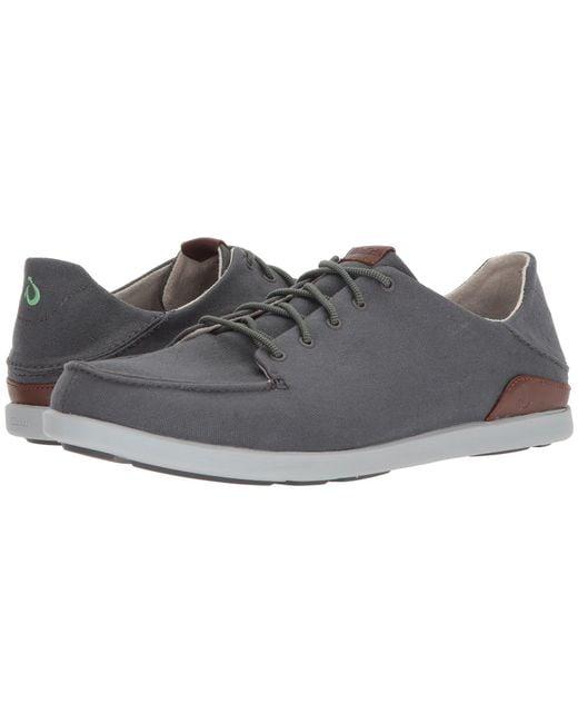 Olukai - Gray Manoa (black/mustard) Men's Shoes for Men - Lyst