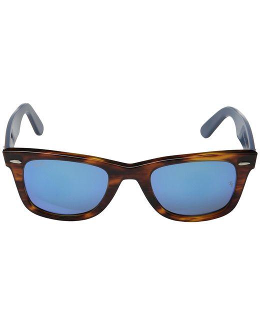 ray ban wayfarer 54mm sunglasses zzz8  Ray-Ban  Brown Rb2140 Original Wayfarer 54mm  Lyst