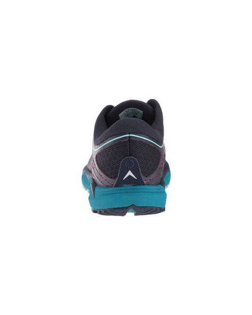 timeless design 5e775 92a87 Lyst - Brooks Caldera 2 (navy/plum/ice Blue) Women's Running ...