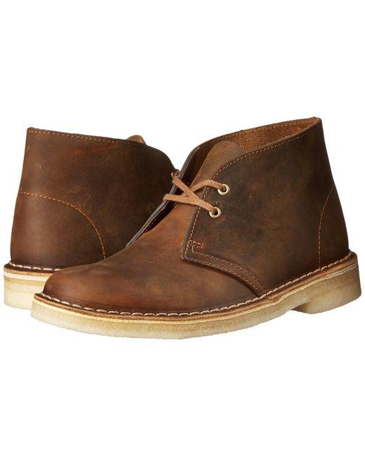 Clarks | Natural Desert Boot | Lyst