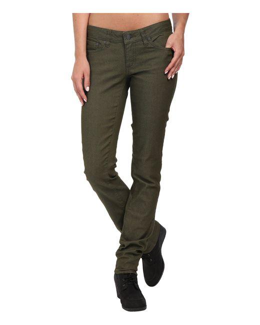 Prana - Green Kara Jean (volcanic Plum) Women's Jeans - Lyst