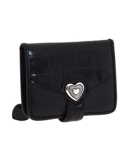 Brighton | Black Bellisimo Heart Small Wallet | Lyst