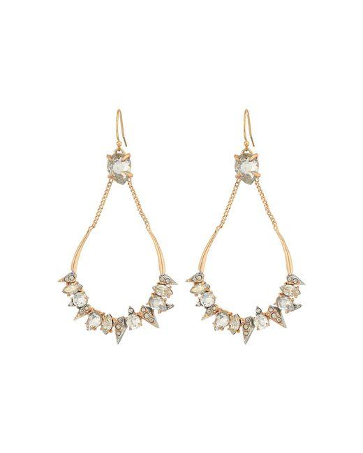 Alexis Bittar - Metallic Crystal Encrusted Mosaic Futuristic Tear Earrings (rose Gold W/ Rhodium) Earring - Lyst