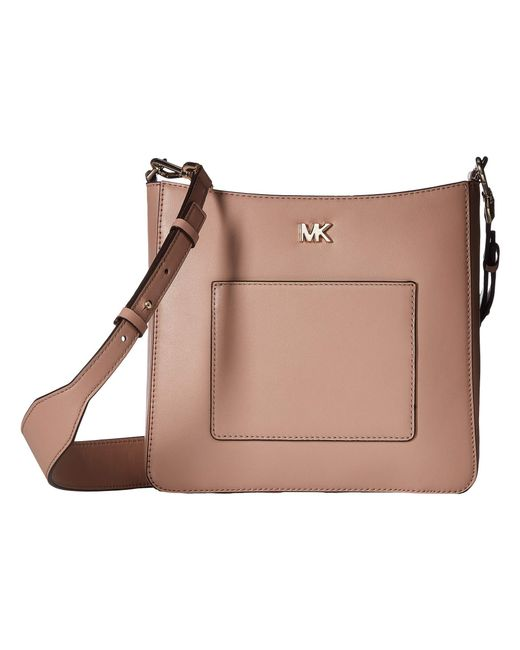MICHAEL Michael Kors - Brown Gloria Pocket Swing Pack (fawn) Bags - Lyst